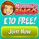 £10 Free Bingo at Mummiesbingo.com