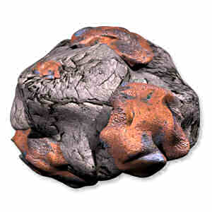Copper asteroid